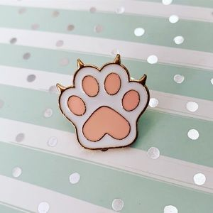 Cat Claws Enamel Pin / Cat Lady / Fur Mommy Paw